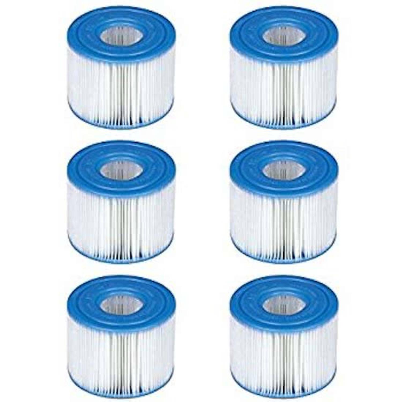 Intex zwembad filtercartridge type h 6 stuks blokker for Blokker zwembad