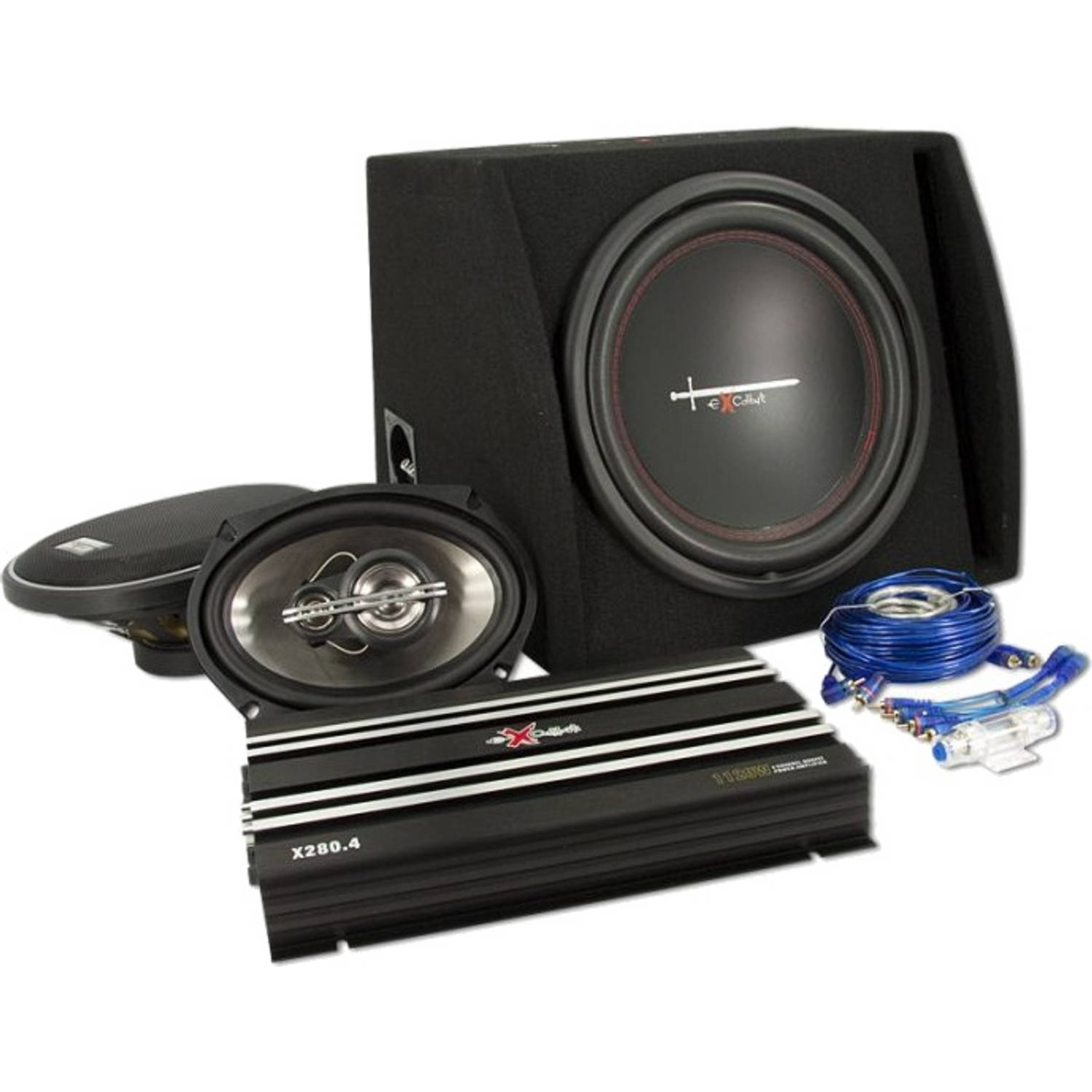 Excalibur speakerset Total Package 2 zwart