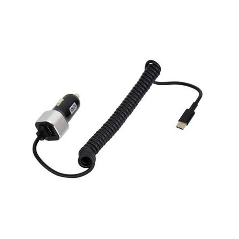 Carpoint autolader USB 12/24 Volt 3A zwart