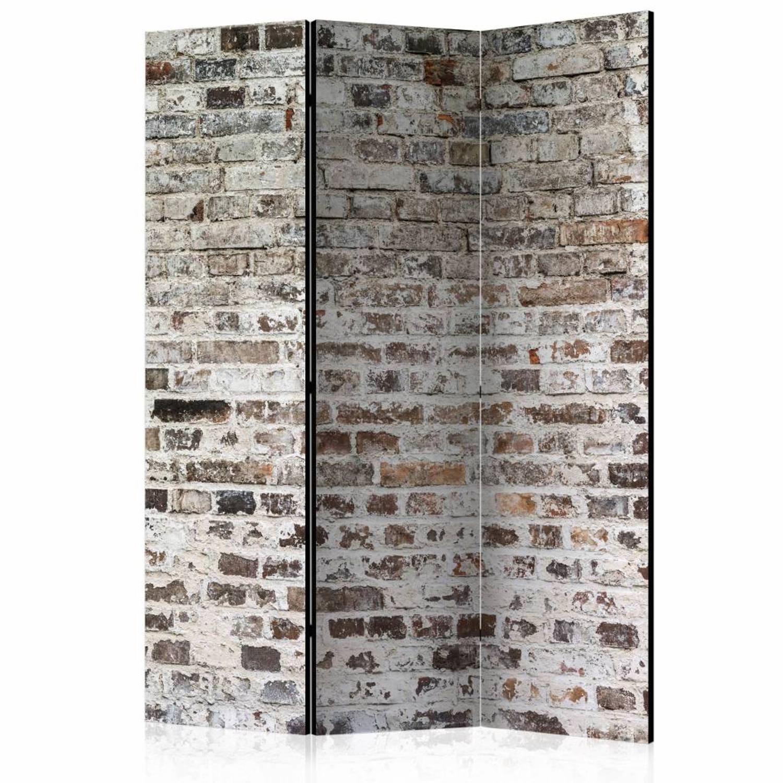 Vouwscherm - Oude stenen muur 135x172cm