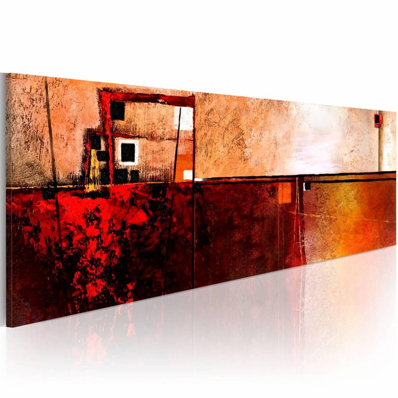 Schilderij - Infraroodstraling - 120x40