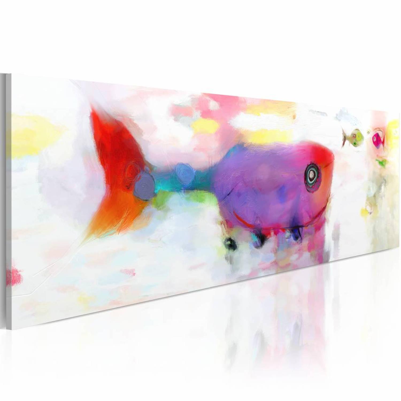 Schilderij - Deep-sea fishes - 120x40
