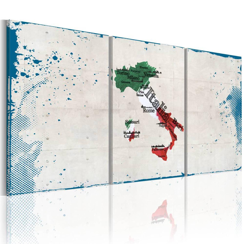 Schilderij - Bekende plaatsen - Italië - 60x30