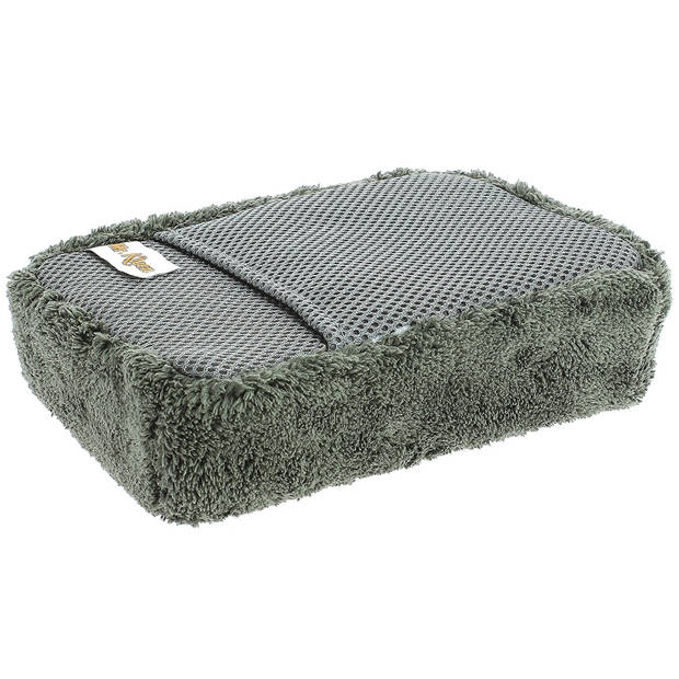 Mr. Kleen spons 20 x 13 x 6 cm microvezel grijs