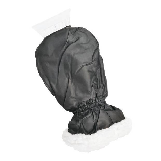 ProPlus ijskrabber met handschoen Deluxe 33 cm zwart
