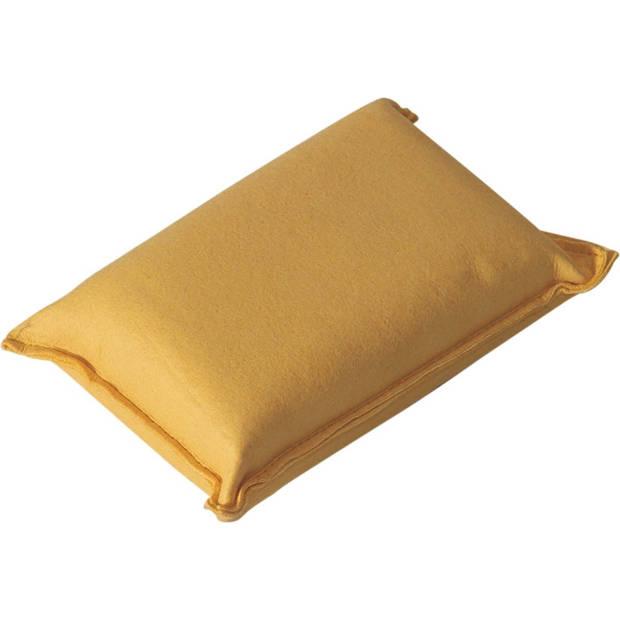Protecton zeemspons 13 x 8 x 5 cm geel