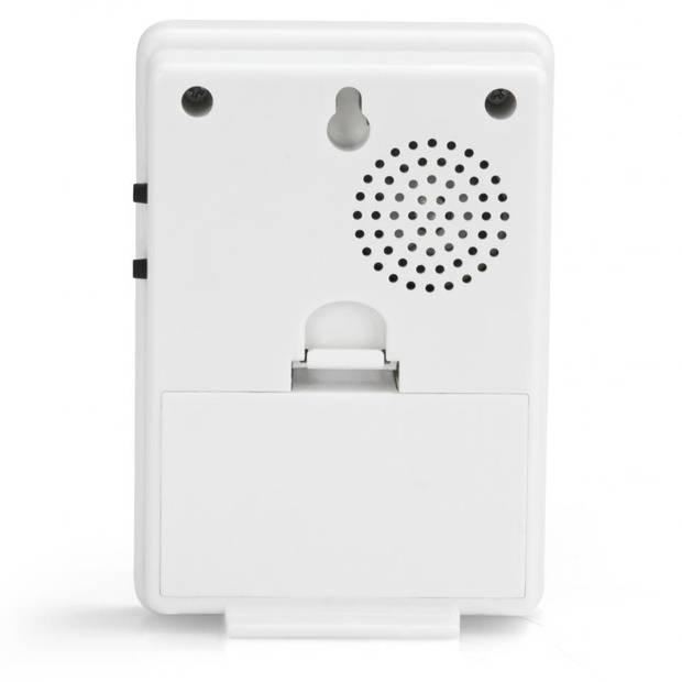 Alecto draadloze deurbel ADB-11WT- wit
