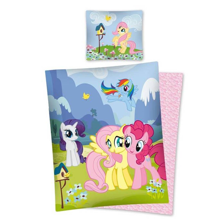 My Little Pony Dekbedovertrek Happy Together (Multi) Maat: 1-Persoons 140x200 cm