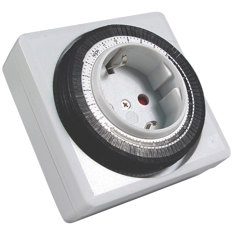 Calex wandcontactdoos met timer 24H (blister)