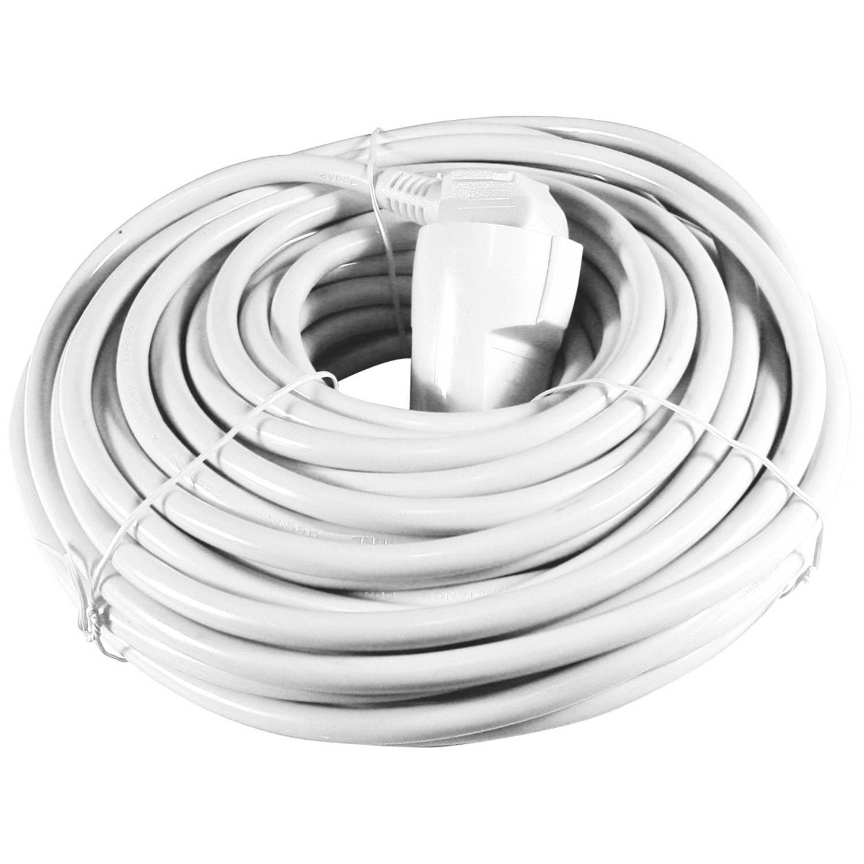Calex Verlengkabel wit 5 meter