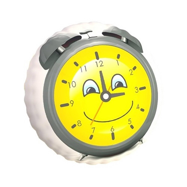 Carbotex kussen wekker geel 40 cm