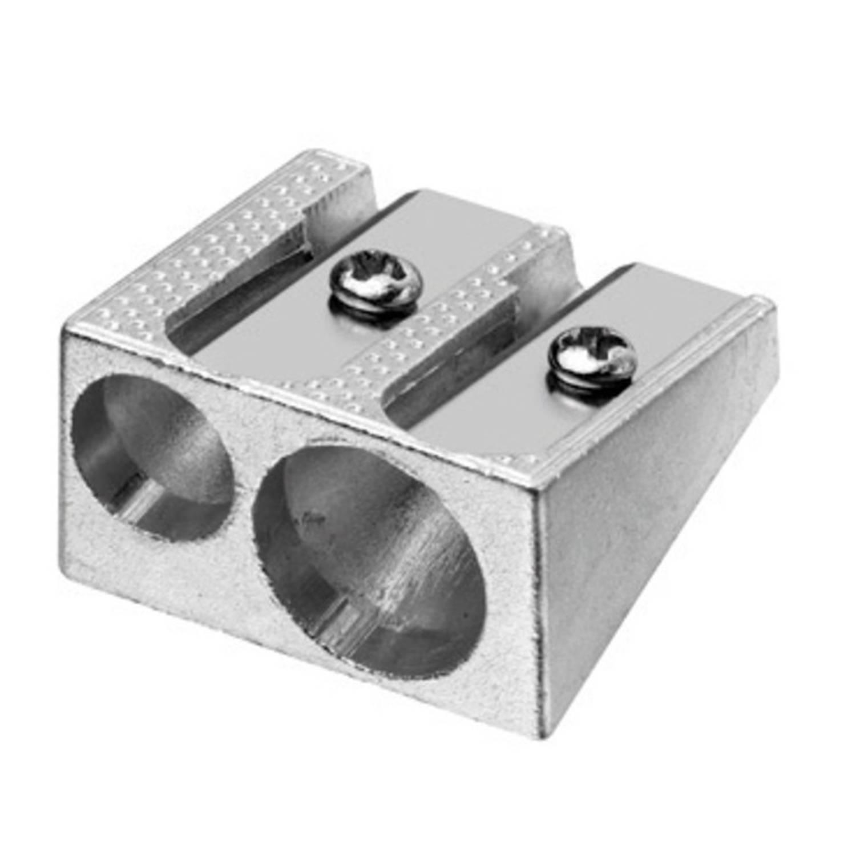 Korting Puntenslijper Westcott Aluminium Dubbel