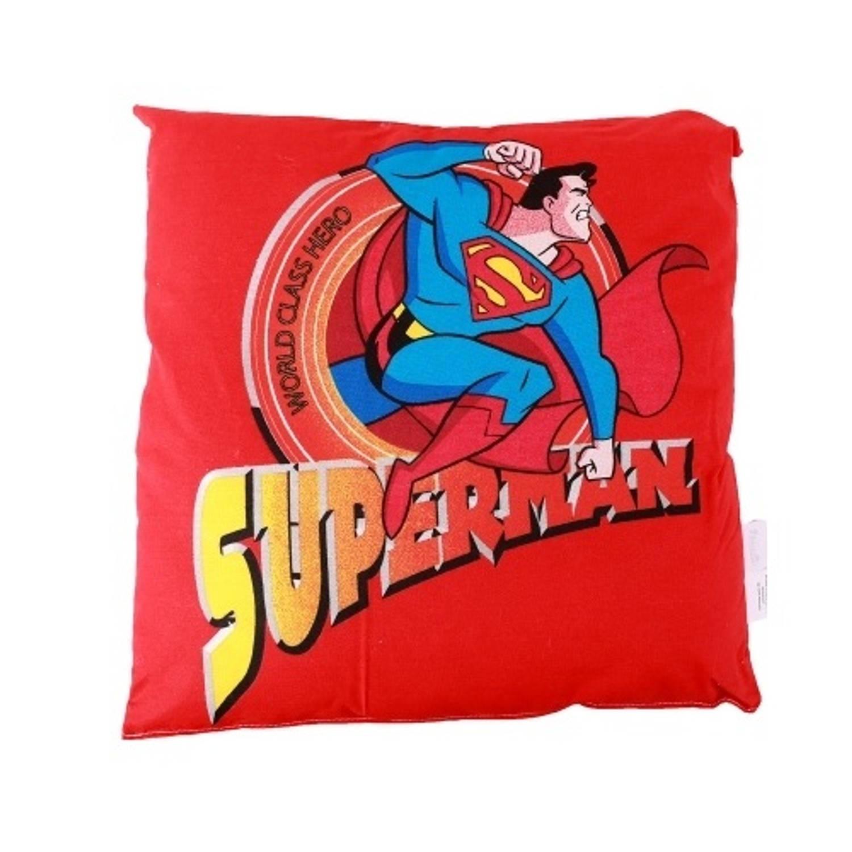 DC Comics sierkussen Superman 40 cm rood