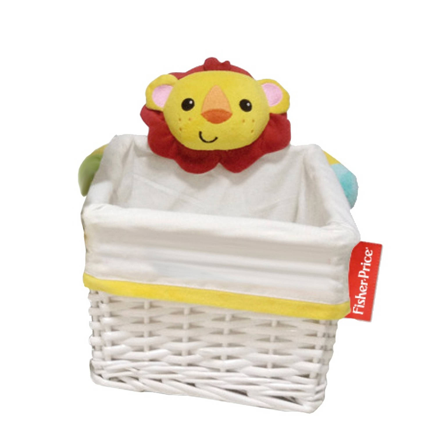 Fisher-Price opbergbox leeuw wit 9,8 liter