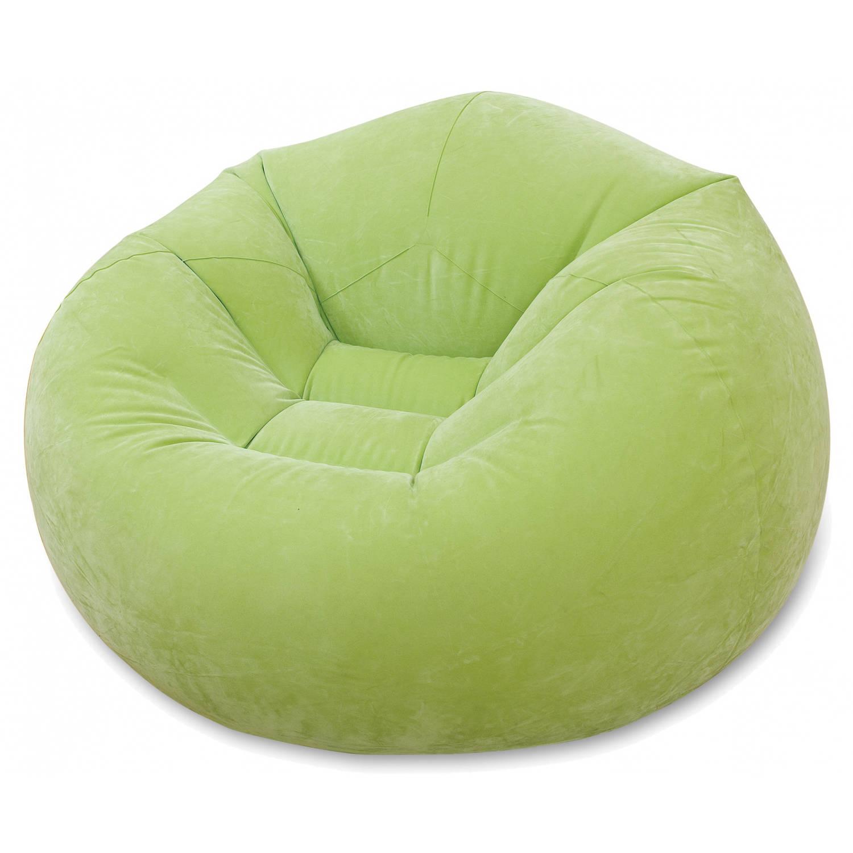 Intex opblaasbare loungestoel groen 104 x 107 x 69 cm