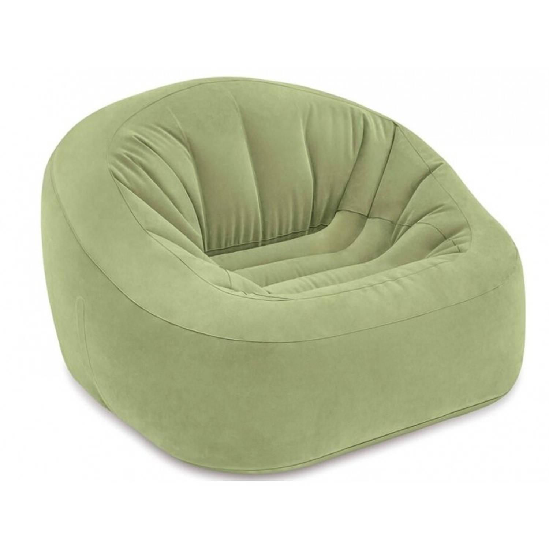 Intex loungestoel Club 124 x 119 x 76 cm groen