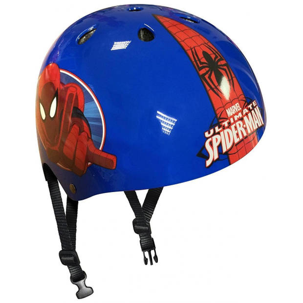 Marvel skatehelm Spider-Man blauw/rood