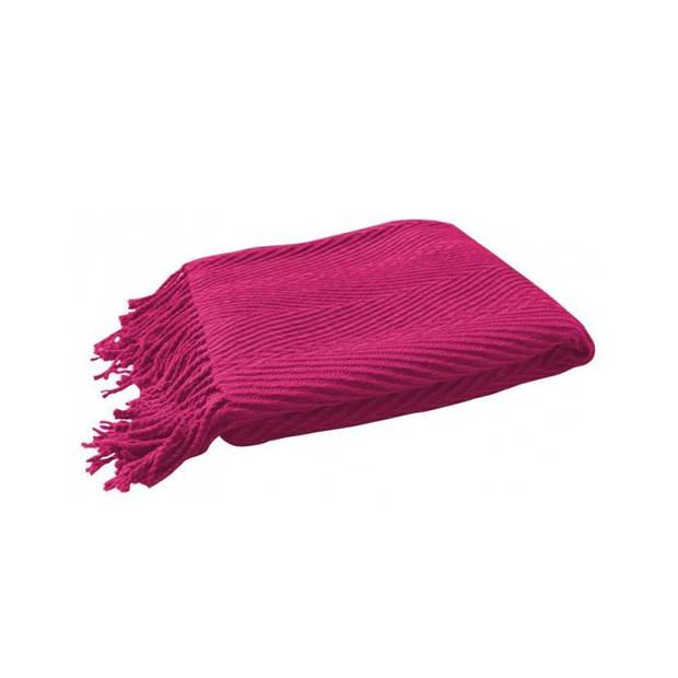 Covers & Co Plaid Bosse - Roze