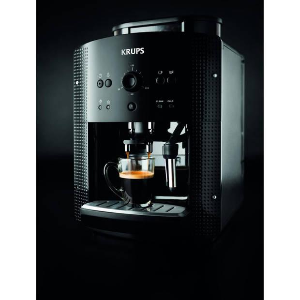 Krups volautomatische espressomachine Arabica EA810B - zwart
