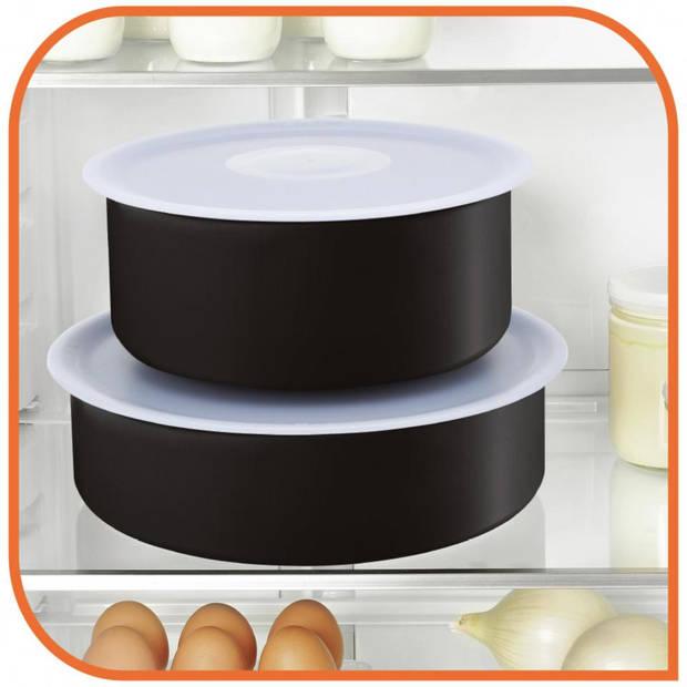 Tefal Ingenio pannenset - 5-delig - met 2 deksels & handgreep