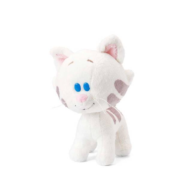Woezel & Pip knuffel Buurpoes - 16 cm - wit