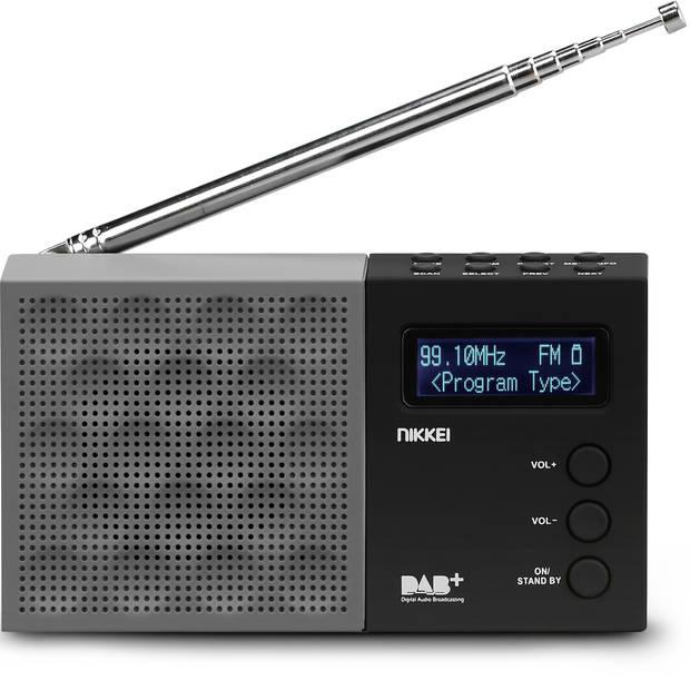 NIKKEI NDB30BK - PORTABLE DAB+ RADIO MET