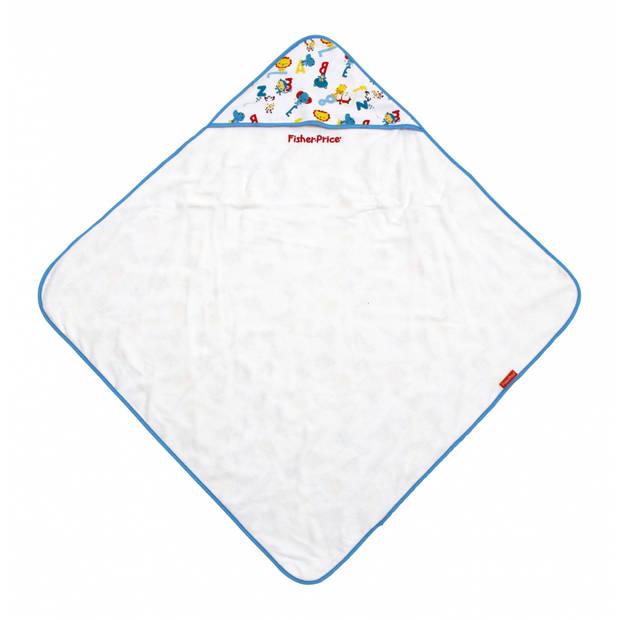 Fisher-Price badcape dierenprint 75 cm