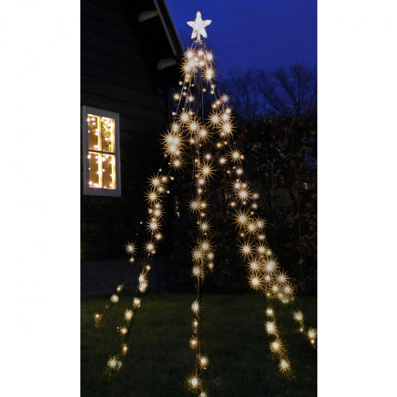 Luca Lighting verlichte kerstboomvorm 230 cm - 200 lampjes