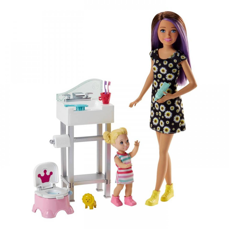Barbie Babysitter - potjes training