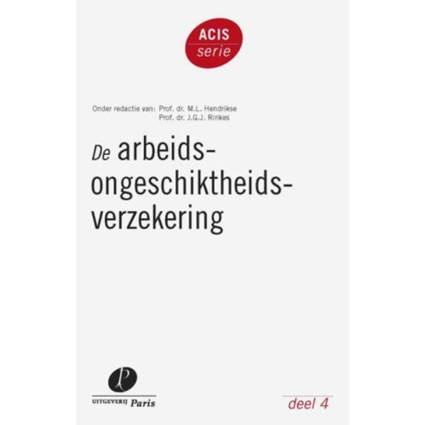 De Arbeidsongeschiktheidsverzekering - Acis-Serie
