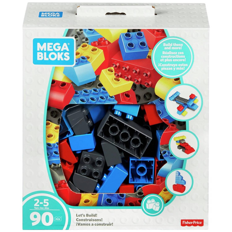 Mega Bloks blokken Let's Build jongens 90-delig
