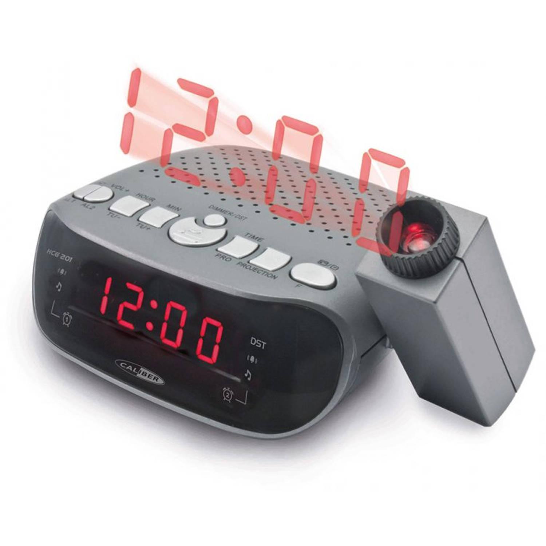 Caliber HCG201 projectie wekkerradio