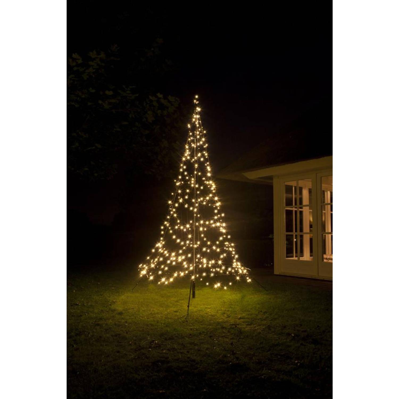 Fairybell verlichte kerstboomvorm met twinkel effect - 300 CM kopen