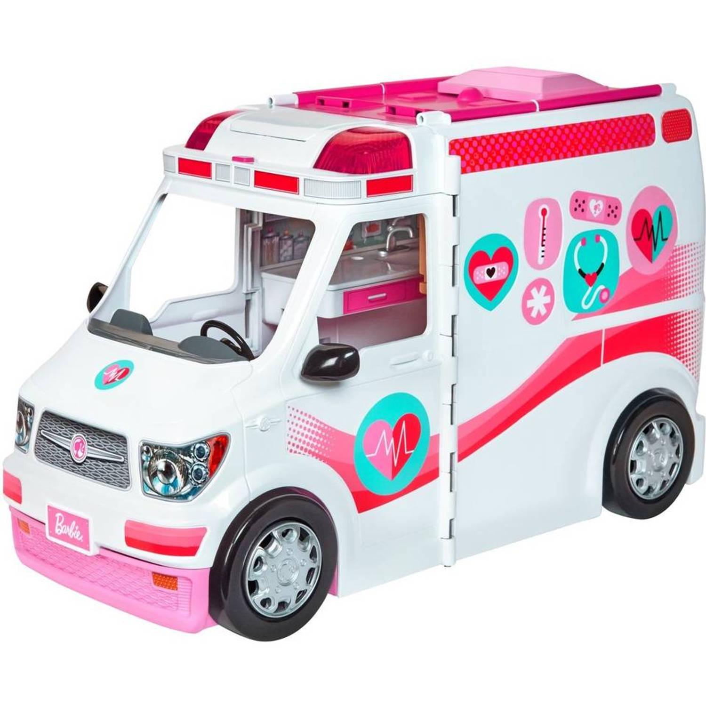 Barbie Ambulance - 46x19x26 cm - inclusief accessoires