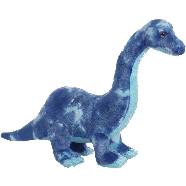 Afbeelding van Aurora knuffel Brachiosaurus blauw 39 cm