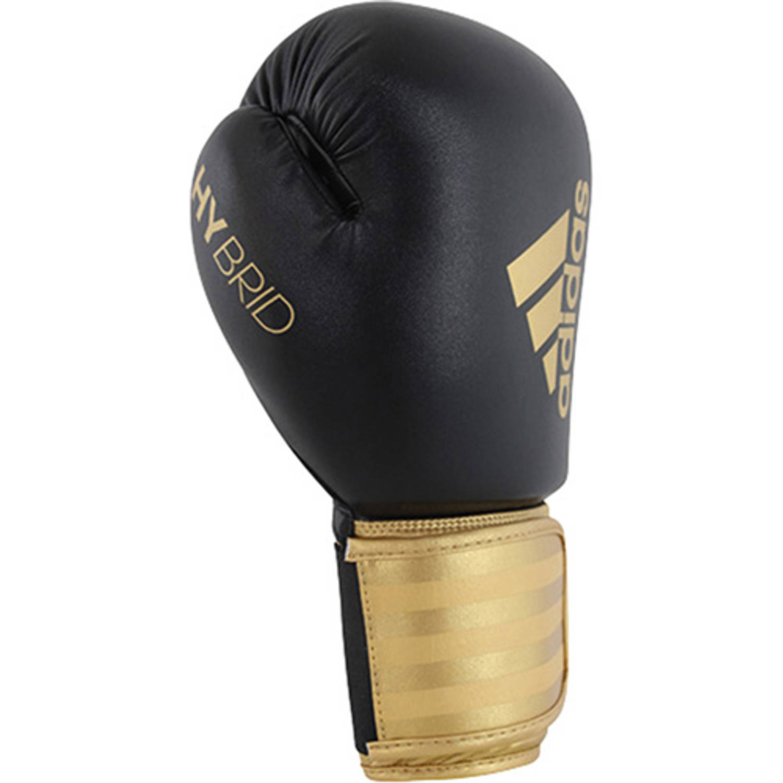 Adidas Hybrid 100 Bokshandschoenen 10oz Zwart-goud
