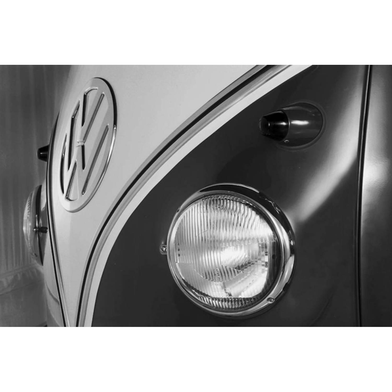 Volkswagen Logo - Fotobehang - 315 x 232 cm - Grijs