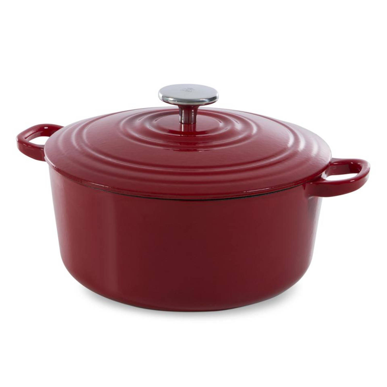 BK Bourgogne braadpan - � 28 cm - chili red