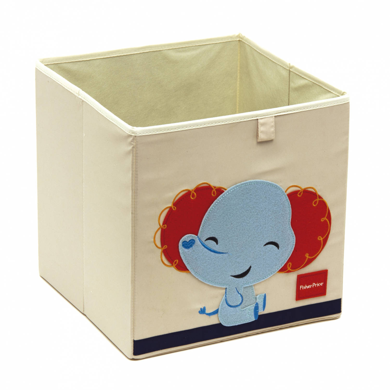 Fisher-Price opbergbox olifant 36 liter wit