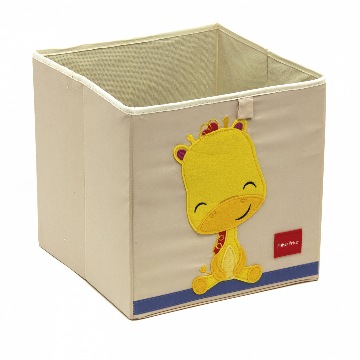 Fisher-Price opbergbox giraffe 36 liter wit