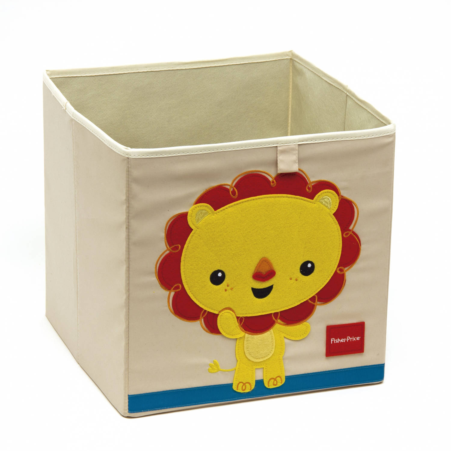 Fisher-Price opbergbox leeuw 36 liter wit