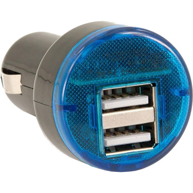 Afbeelding van AutoStyle autolader USB dubbel 12/24 Volt 3,1A zwart