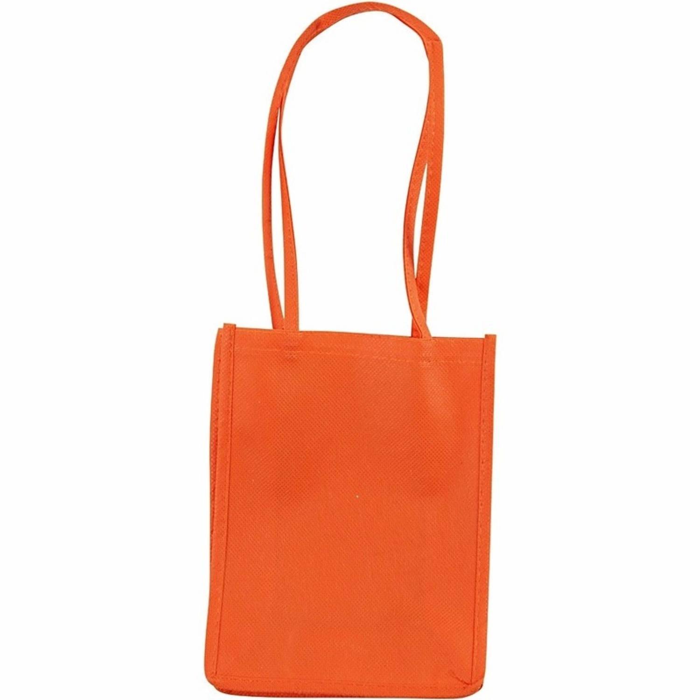 Korting Oranje Tasje Met Hengels 20 Cm