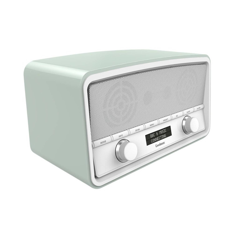 Goodmans Heritage DAB+ Bluetooth Radio Spring Green