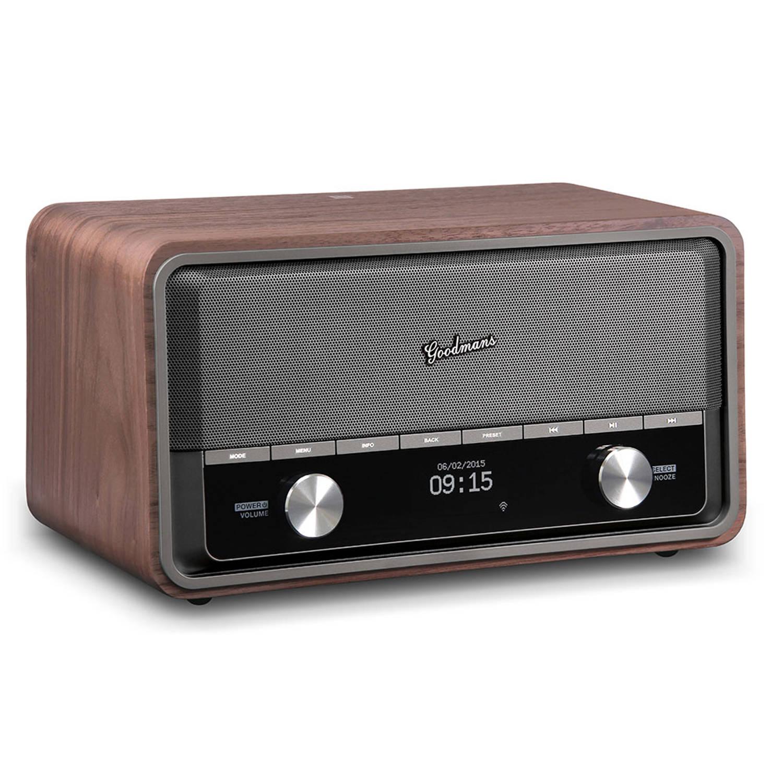 Goodmans Heritage 2 Connect Wifi DAB+ Bluetooth Radio