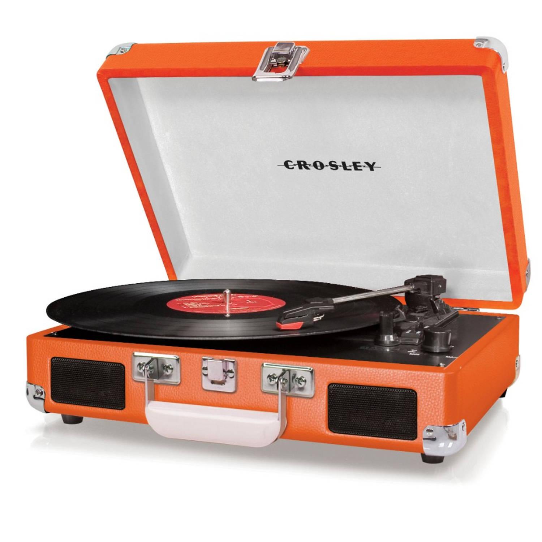 Crosley Cruiser Deluxe Platenspeler Oranje