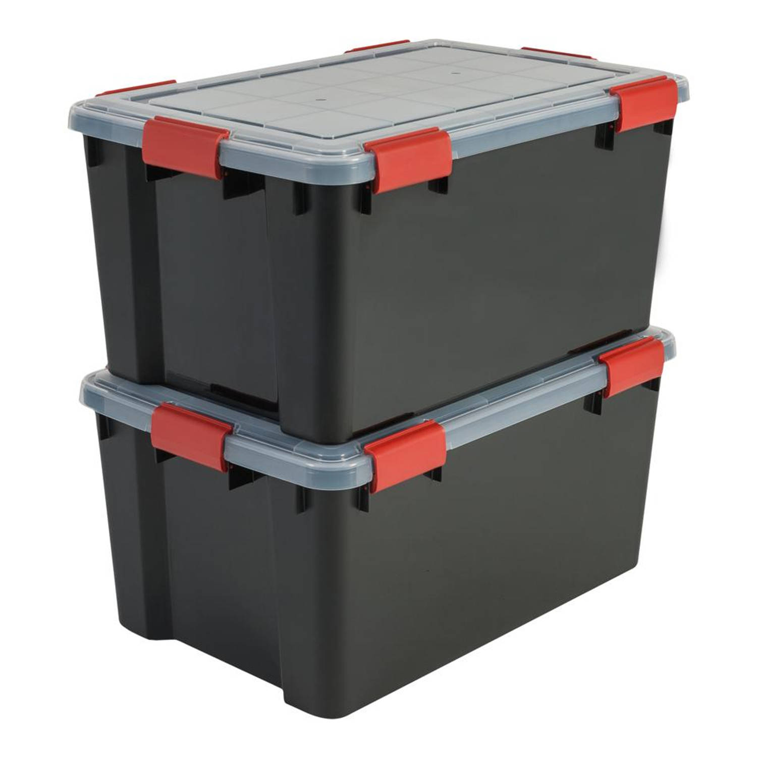 Iris Air Tight Box opbergbox - 50 liter - transparant