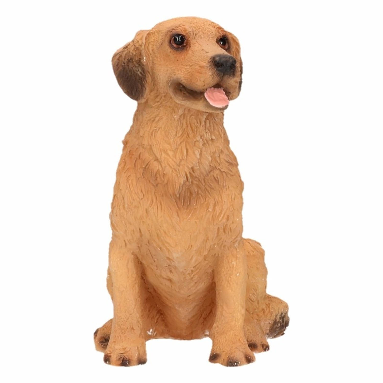 Beeldje Golden Retriever hond 11 cm