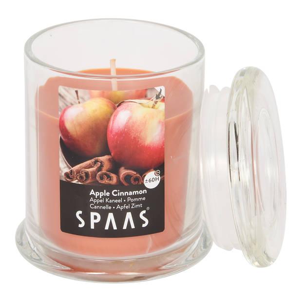 Spaas geurkaars pot - Appel kaneel - Ø 9 cm