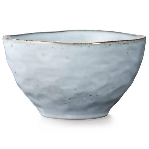 Blokker Ottawa schaaltje - ø 13,5 cm - grijsblauw